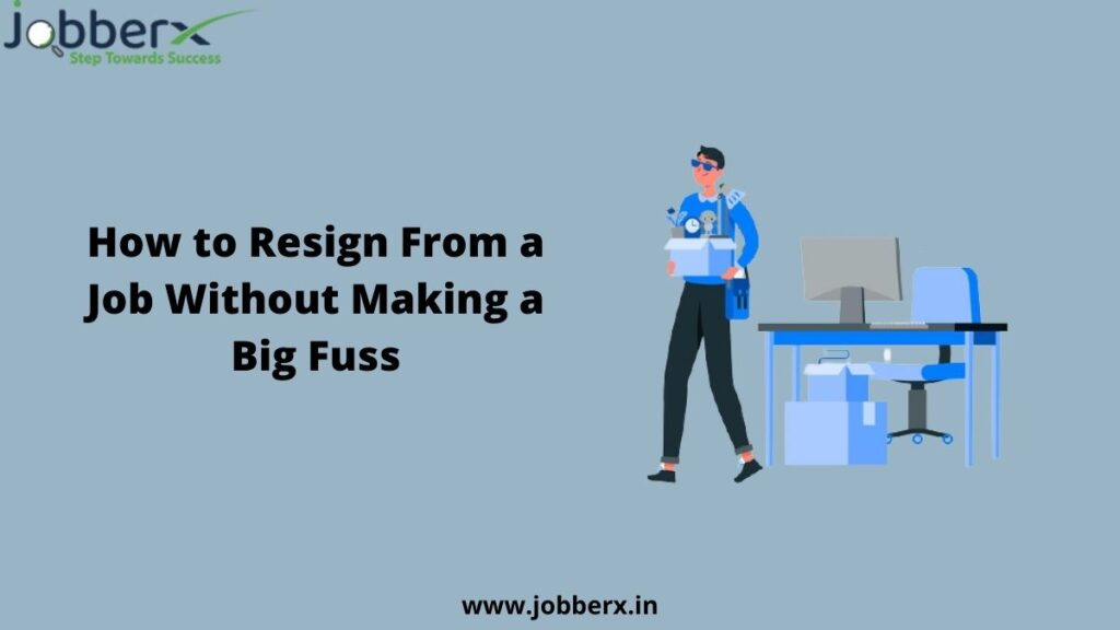 how to resign from a job